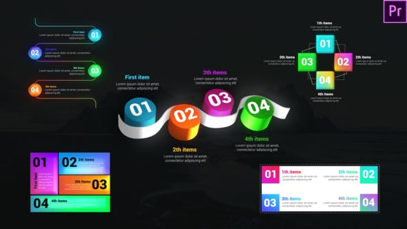 Boîte à outils des listes infographiques