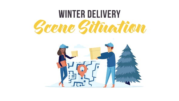 Thumbnail for Winter delivery - Scene Situation