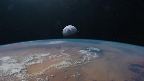 Exoplanet Establishing Shot