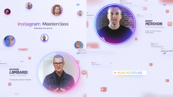 Instagram Masterclass - Event Promo