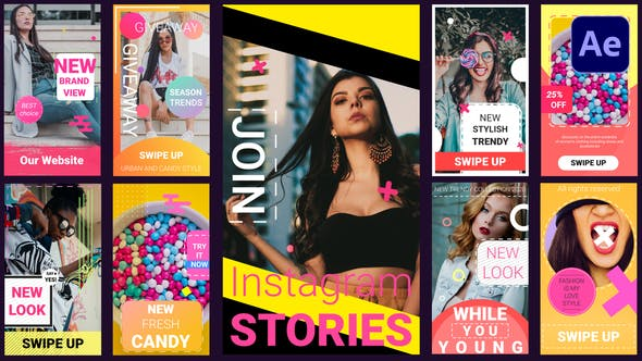 Thumbnail for Instagram Stories | After Effects