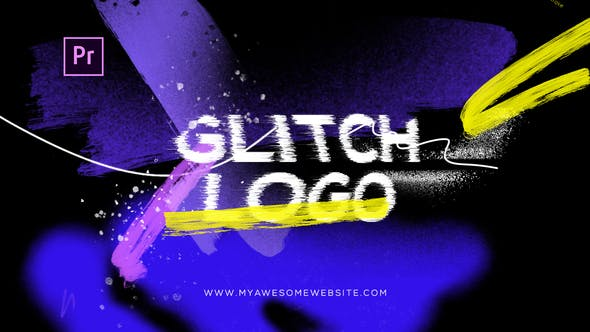 Thumbnail for Glitch Grunge Distortion Logo Intro