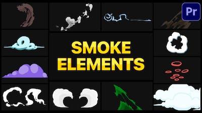 Smoke Elements Pack   Premiere Pro MOGRT