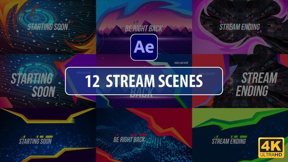 Stream Scenes | After Effects