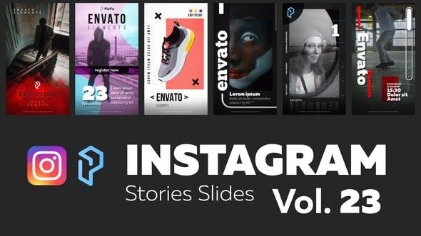 Thumbnail for Instagram Stories Slides Vol. 23