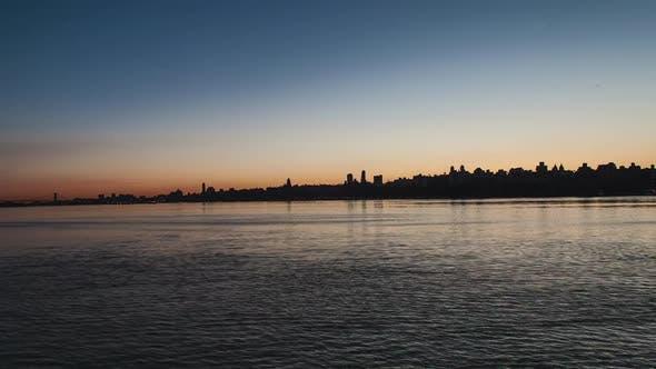 Cover Image for New York City Skyline Sunrise