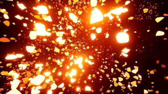 Thumbnail for Glowing Debris