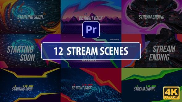 Stream Scenes   Premiere Pro MOGRT
