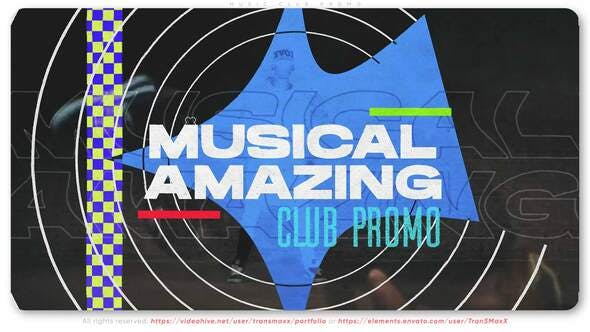 Music Club Promo