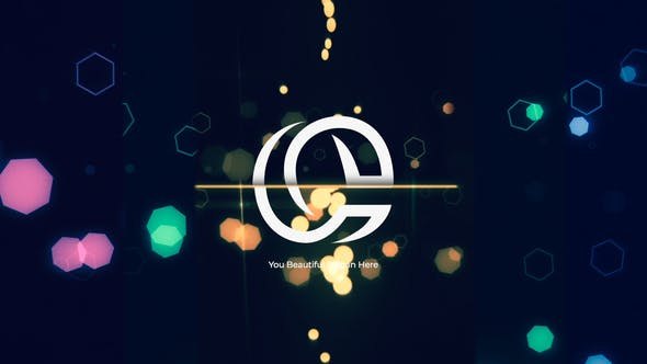 Thumbnail for Glow Particles Logo Reveal