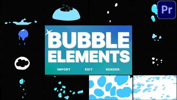 Thumbnail for Bubble Elements   Premiere Pro MOGRT