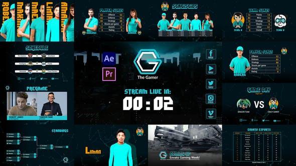 Gamer Esport Broadcast Package