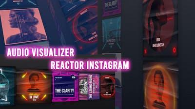 Audio Visualizer Reactor Instagram