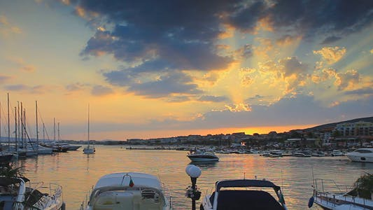 Thumbnail for Sunset Over The Marina