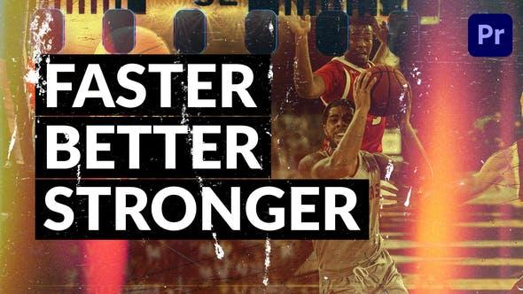 Faster Better Stronger // Dynamic Slideshow