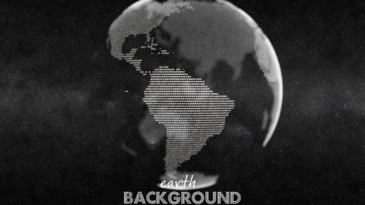 Thumbnail for Earth Globe Animation - White