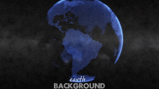Cover Image for Earth Globe Animation - Blue