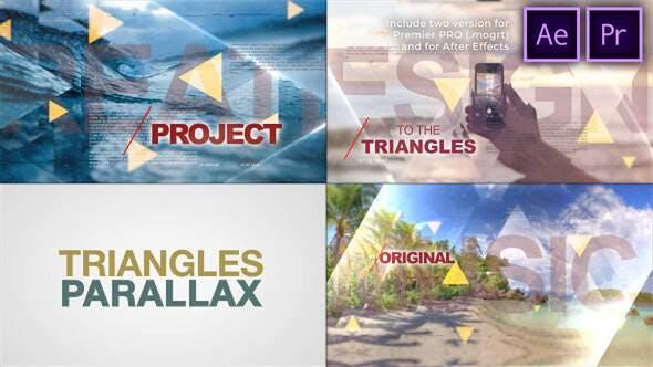 Triángulos Mundo de Parallax