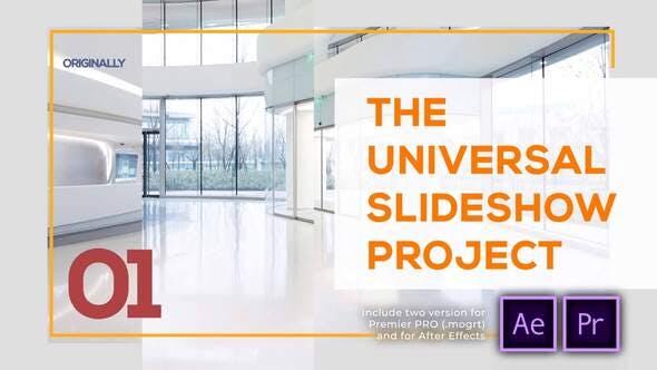 Thumbnail for Presentación de diapositivas universal