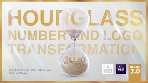 Hourglass Number and Logo Transformation