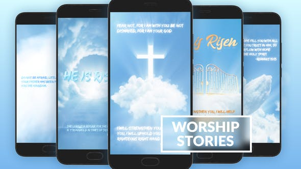 Thumbnail for Worship And Prayer Instagram Stories