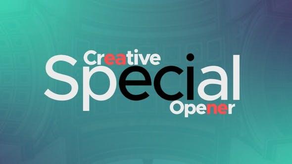 Abridor especial creativo