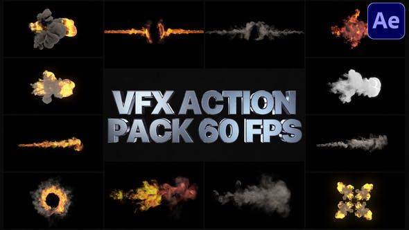 Thumbnail for Paquete de acción VFX | After Effects