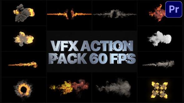 Thumbnail for Paquete de acción VFX | Premiere Pro MOGRT
