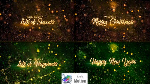 Christmas Wishes - Apple Motion