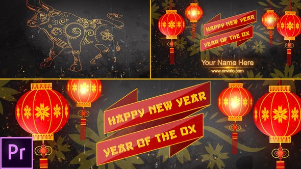 Thumbnail for Chinese New Year Opener 2021 - Premiere Pro