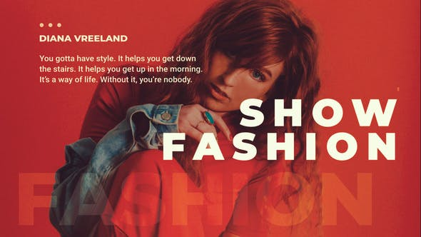 Thumbnail for Diaporama Fashion Promo
