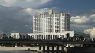 Moscow, Russia, View On The Government House