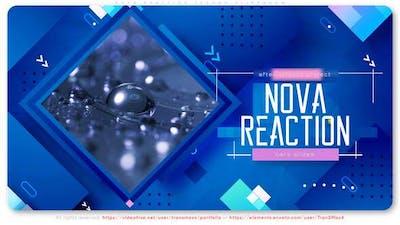 Nova Reaction Techno Slideshow