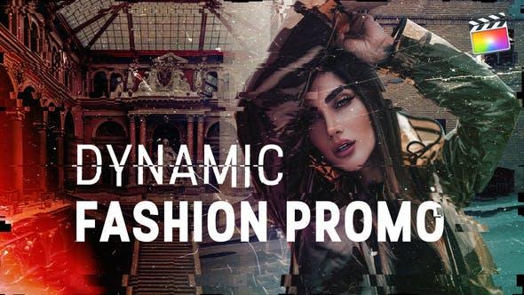 Dynamische Mode Promo | Für Final Cut & Apple Motion