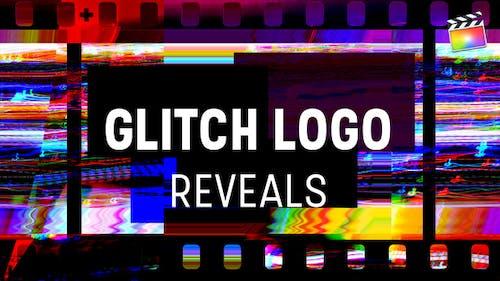 Glitch Logo Reveals  | For Final Cut & Apple Motion