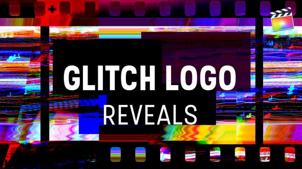 Thumbnail for Glitch Logo enthüllt | Für Final Cut & Apple Motion