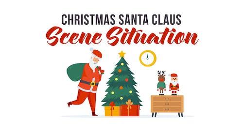 Christmas Santa Claus - Explainer Elements