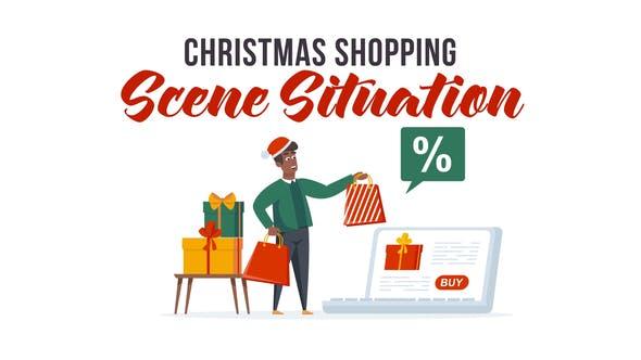 Christmas shopping - Explainer Elements