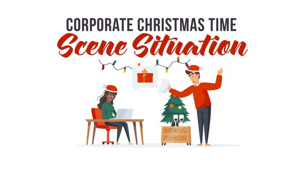 Corporate Christmas time - Explainer Elements