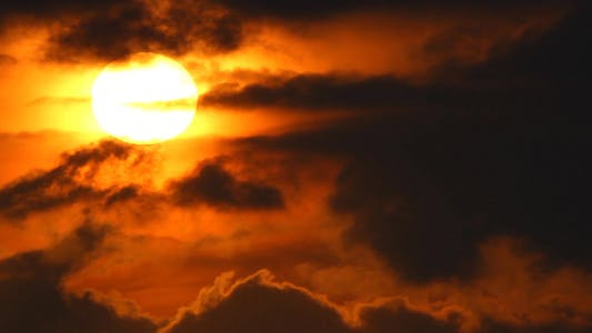 Thumbnail for Black Cloudy Sunrise II
