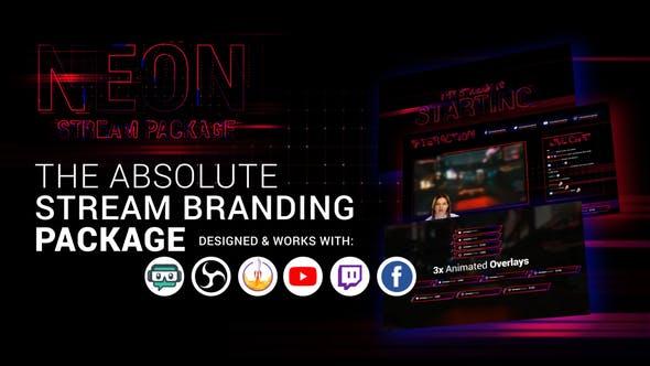 Stream Branding Package. Stream Overlays.