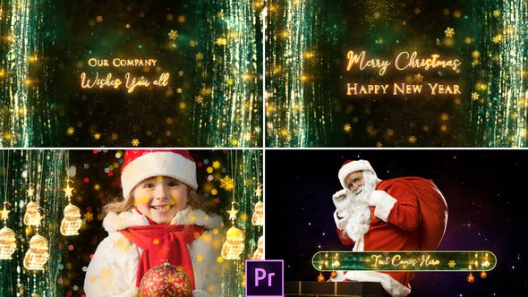 Thumbnail for Christmas Broadcast Pack- Premiere Pro
