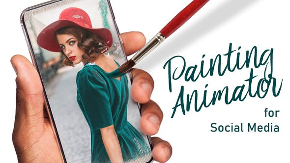 Painting Animator for Social Media