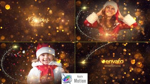Christmas Slideshow - Apple Motion