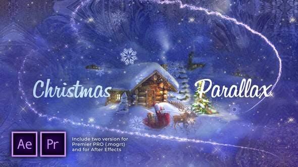Thumbnail for Presentación de diapositivas Parallax de Navidad