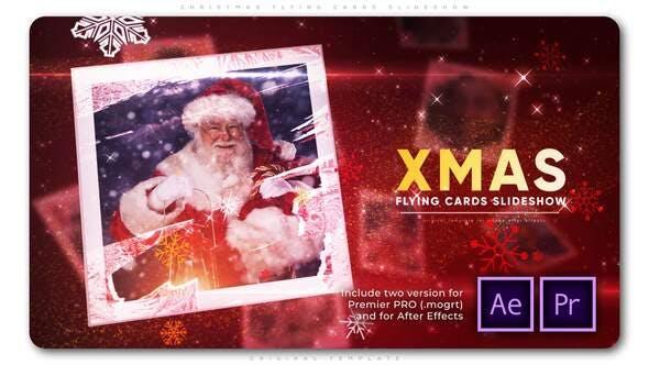 Thumbnail for Diapositivas de tarjetas de Volador de Navidad