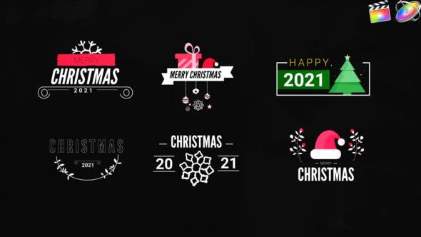 Thumbnail for Títulos de movimiento de Navidad