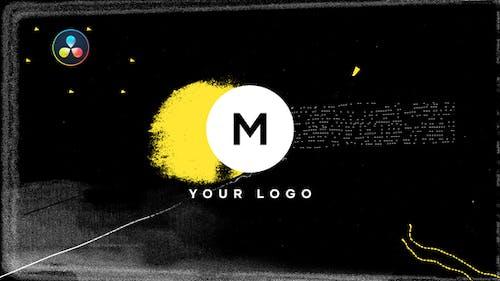 Scribble Grunge Distortion Logo