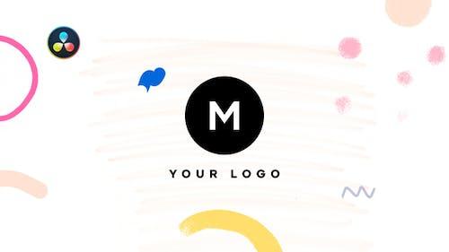 Hand Drawn Brush Minimal Logo