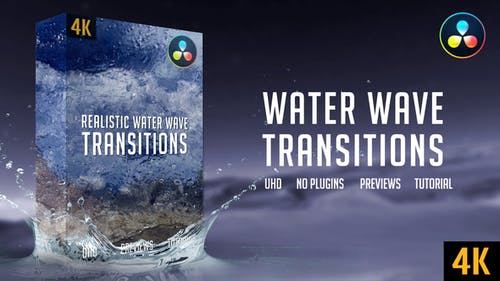 Water Wave Transitions | 4K